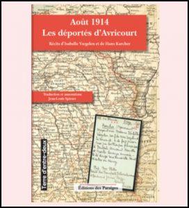 2016 - Août 1914 : les déportés d'Avricourt